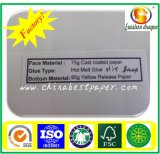 60g Papier de libération de silicone pour papier adhésif