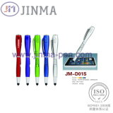 Il Multifunctional Promotion Pen Jm-D01s con Un LED Un Stylus Touch
