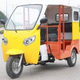 Vespa motorizada gasolina del triciclo del cargo de los adultos