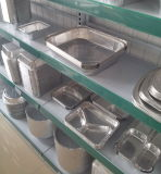 小型塊鍋のアルミホイルの皿