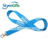 Custom poco costoso Logo Printing Polyester Lanyards per Gift