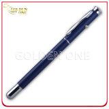 Regalo operato di stile che infila la penna del metallo con luce laser