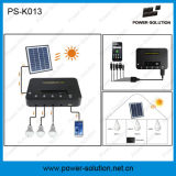 1W 2W Bulbsの4W 8W Solar Home Lighting System