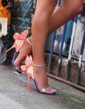 كثير شعبيّة فراشة تصميم [هي هيل] نساء أحذية