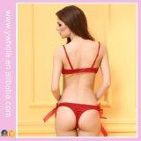 Stijl van Drie Punt van Kerstmis de Rode Dame Sexy Lingerie voor de EU en ons Sexy Dames