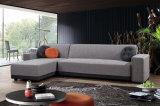 Base di sofà sezionale dell'angolo del tessuto per il salone