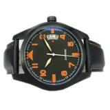 Orologio impermeabile di lusso MW-02 del cuoio genuino degli uomini