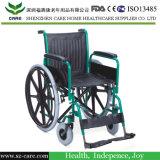 طبّيّ [كرومد] فولاذ كرسيّ ذو عجلات مع [بو] قندس