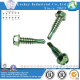 Auto Tapping Screw de Drilling Screw do auto com Nibs/Wing