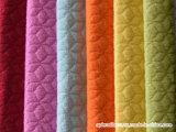 Tela del sofá del terciopelo de Terry del telar jacquar de Matt del poliester de la tapicería