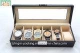 Caixa de relógio envernizada lustrosa do armazenamento da venda quente (MGM-WB06)