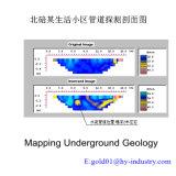 détection de l'eau souterraine de profondeur de 500m, détecteur d'eau et mètre de résistivité