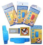 Wristband répulsif de citronnelle de moustique normal efficace innovateur de silicone