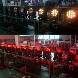 12X12W段階LEDのディスコライトRGBW小型移動ビーム