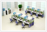 Рабочая станция центра телефонного обслуживания офисной мебели для стола штата работая (HF-YZV620)