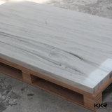 Surface solide de marbre d'Artifciai, surface solide acrylique pour des panneaux de mur