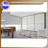 Brillante madera blanca Armario para Muebles del hotel (customzied)