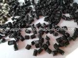 HDPE noir de couleur de granules réutilisé par vente chaude