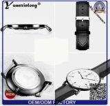 Manos Intercambiables de Alta Calidad Personalizada Personalizada Negro Matte Dial Reloj De Pulsera