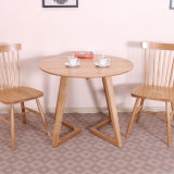 Redonda clássico jantar da madeira contínua da sala de visitas de madeira da mobília