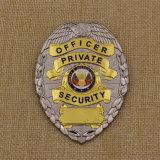 Kundenspezifische weiche Emaille-Polizei Badge Metallreverspin-Abzeichen