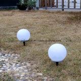 스파이크 잔디밭 정원 점화를 가진 태양 지구 램프