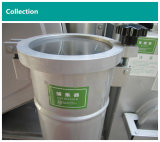 El equipo comercial de la limpieza en seco tasa la máquina