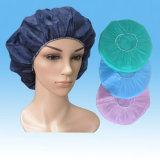使い捨て可能なBouffant帽子、ISO13485のセリウムの標準の暴徒の帽子