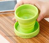 Kop van de Koffie van de Mok van het Silicone van de Kop van het silicone de Opvouwbare voor Reis 200ml