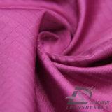 agua de 50d 270t y de la ropa de deportes tela tejida chaqueta al aire libre Viento-Resistente 100% del poliester del filamento del telar jacquar de la tela escocesa abajo (53132L)