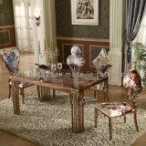 Eettafel van het Meubilair van de Zaal van het huis de Marmeren Hoogste Gouden