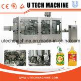 Estado de ejecución de cocción automático de llenado de aceite de la máquina