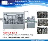 Agua/Aqua puros de Monoblock que aclara la máquina que capsula embotelladoa