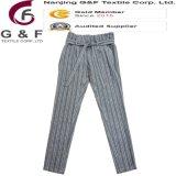 Frauen-elastisches Band-lange Hosen