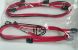 с 8pin Sgpio 50cm Perfect Minisas 36pin-7pin Sff-8087 до 3 /4 /8 SATA Data Cable
