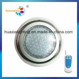 Luz subacuática inoxidable del acero LED de la venta caliente de la fábrica, luz de la piscina