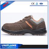Calzado ligero de lujo superior de cuero Ufa024 de la seguridad