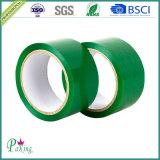 昇進の緑色OPPのカートンのパッキングシーリングテープP040