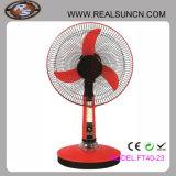 Ventilador de vector solar de la C.C. de los ventiladores 12V del diseño popular con la luz del LED