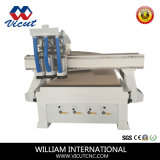 Router automático do CNC do gravador do CNC do cambiador do eixo (VCT-1325ASC3)