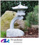 Pagoda фонарика естественного камня гранита самомоднейший высекая для напольного украшения