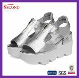 Silberner Farben-Frauen-Plattformen Soem-Lieferant