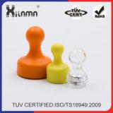 Pin à poussière magnétique en cristal coloré personnalisé pour bureau