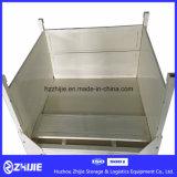 Lange Nutzungsdauer-Stahlschweißungs-kundenspezifischer zusammenklappbarer faltender Stahlbehälter