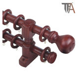 - Double Ashion Style Window Curtain Rod (Trennvorhangspur) aussondern