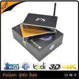 De vierling-Kern van de Doos van het Geval van het aluminium Doos van TV van Amlogic S812 de Slimme met Kodi Apk