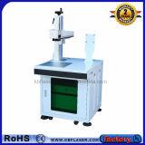 macchina della marcatura del laser della fibra della Tabella 30W per metallo