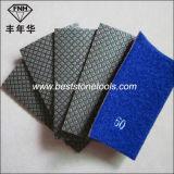Прокладка HD-2 для пусковой площадки Electroplated руки диаманта полируя