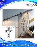 Edelstahl-Schiebetür-Befestigungsteile für Glastür