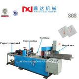Машины Serviette скоросшивателя обрабатывающего оборудования салфетки бумажным выбитые печатание бумажные